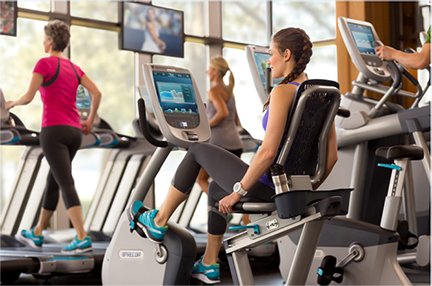 More comfort with every ride. Both our upright and recumbent bikes feature great-feeling motion and biomechanically correct design that encourages proper form.